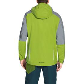 VAUDE Moab Rain Jacket Men chute green